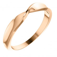 Stuller 14k Rose Gold Twisted Stackable Ring