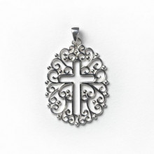 Southern Gates Sterling Silver Inspiration Cross Pendant